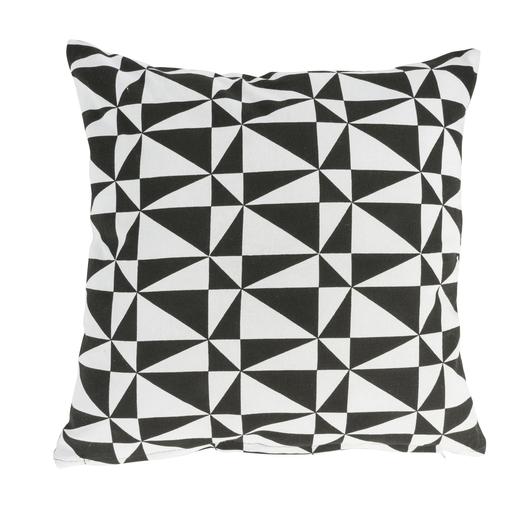 Coussin noir blanc - Collection cadeaux |