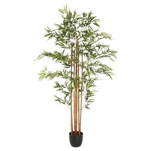 Bambou artificiel en pot - H 180 cm