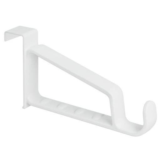 Porte Cintres à Suspendre Plastique Blanc Soin Du Linge La - Porte cintre