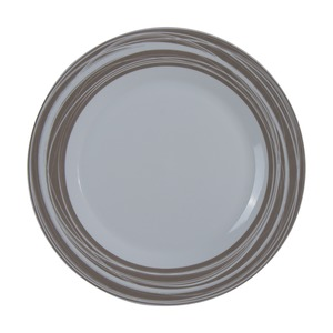 ASSIET PLATE RAYEE TAUPE D27