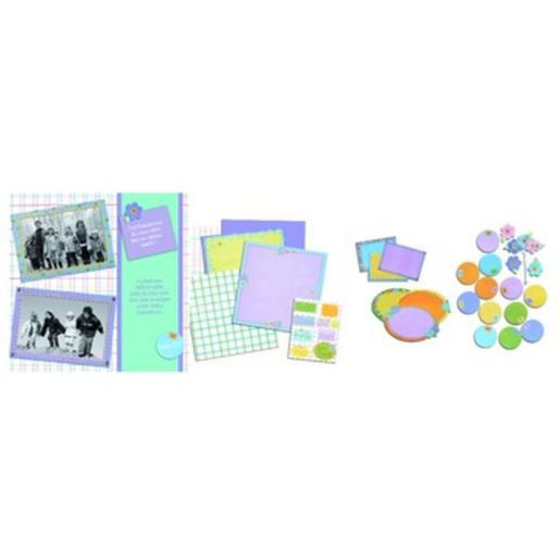 Kit scrap-booking Easy moments - 31 x 30,5 cm - Multicolore