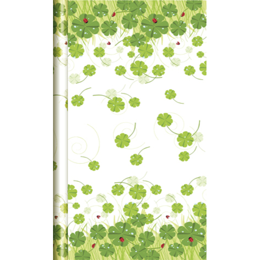 Nappe rouleau papier Damasse Windy Clovers - 6 x 1,18 m - Papier Damasse - Multicolore