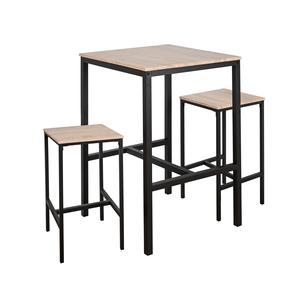 Table haute + 2 tabourets