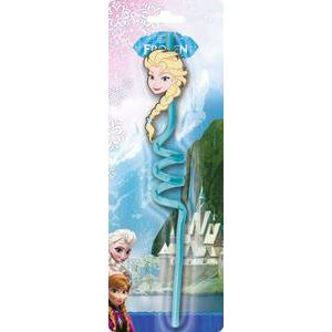 Paille rigide Frozen - Plastique - - Multicolore