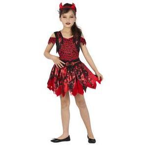 6c745969895f2 Déguisement de petit démon - 4 à 9 ans - Noir et rouge