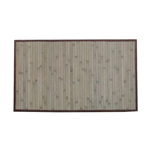 Tapis Bambou Lattes De Bambou Marron Taupe Accessoires
