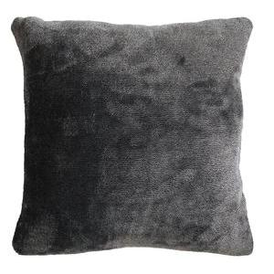 Coussin Sweden - 40 x 40 cm - Gris anthracite