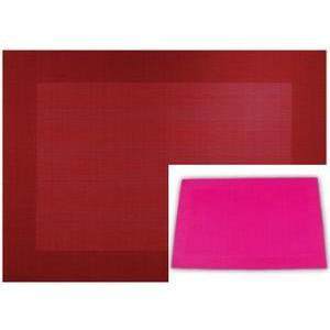 Set de table - PVC - 30 x 45 cm - Rose fuchsia