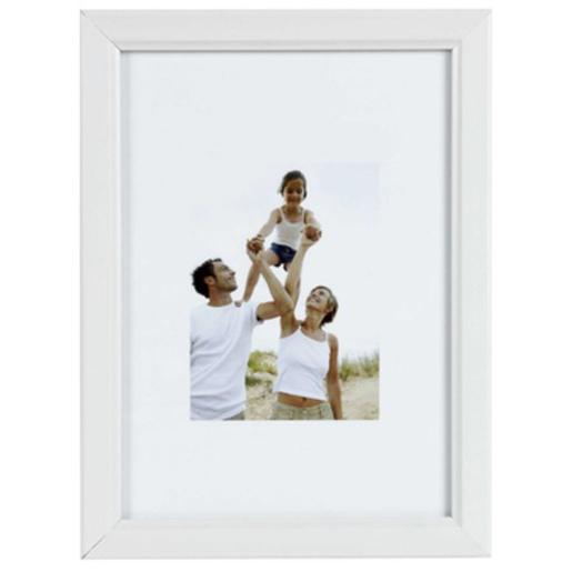 Cadre photo collection Banco - 24 x 30 cm - Couleur blanc