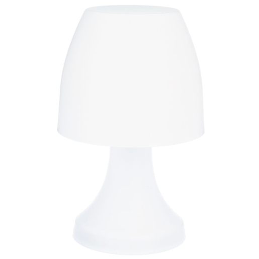 lampe led dokk h 27 cm multicolore lampes poser la foir 39 fouille. Black Bedroom Furniture Sets. Home Design Ideas