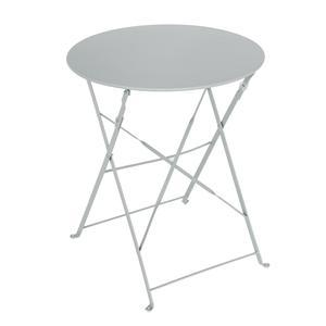 Table Diana ronde - ø 60 x H 71 cm - Gris