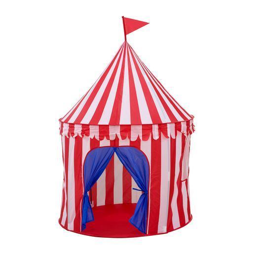 tente pour enfants 103 x h 135 cm rouge blanc et bleu jeux d 39 ext rieur pour enfant la. Black Bedroom Furniture Sets. Home Design Ideas