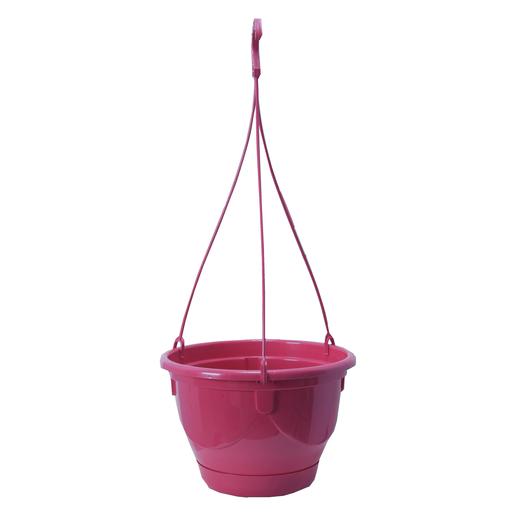 Suspension Fleurs Plastique Rose Pots De Fleur Et Cache Pot