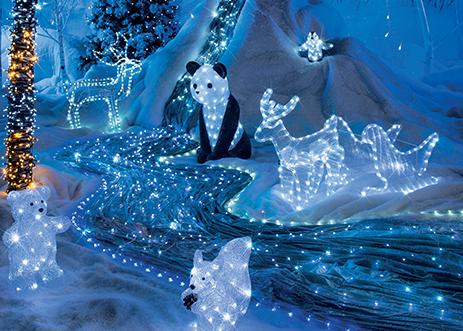 Decorations Lumineuses Pour Noel La Foir Fouille